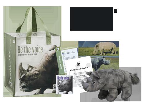 Symbolically Adopt A Rhino World Wildlife Fund