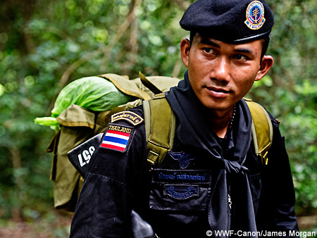 Anti-poaching officer, Thailand