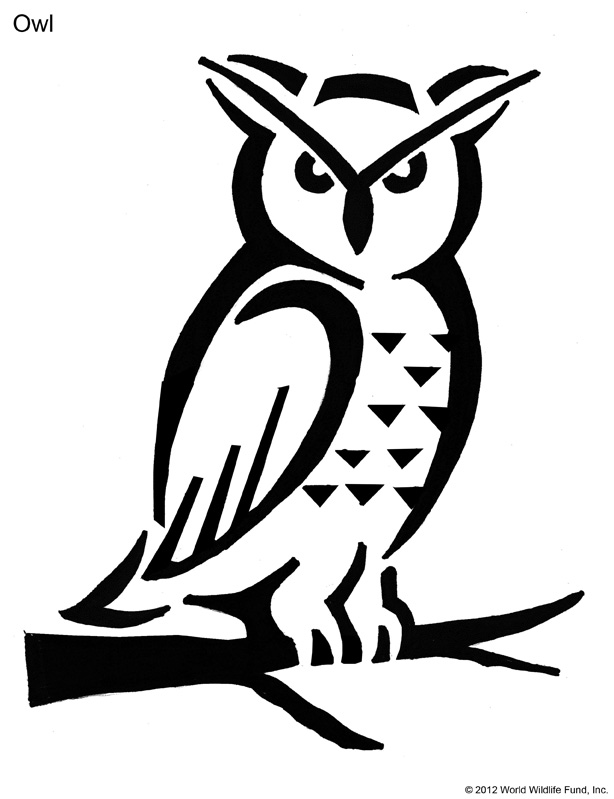 Owl Pumpkin Carving Stencils https://support.worldwildlife.org/site/SPageServer?pagename=PumpkinStencils_Download