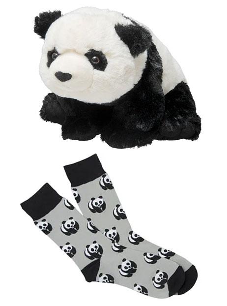 WWF panda plush
