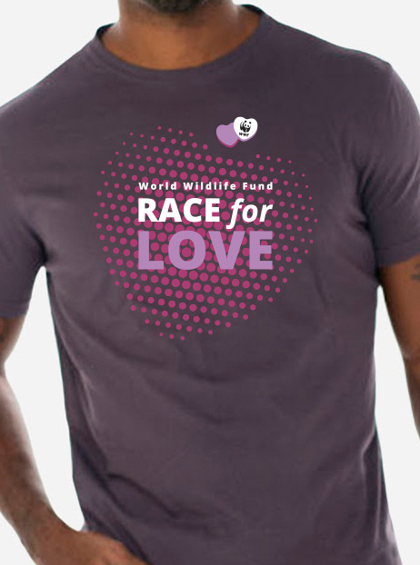 WWF's Race for Love T-shirt