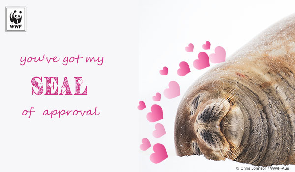 Valentine's Day Ecard seal
