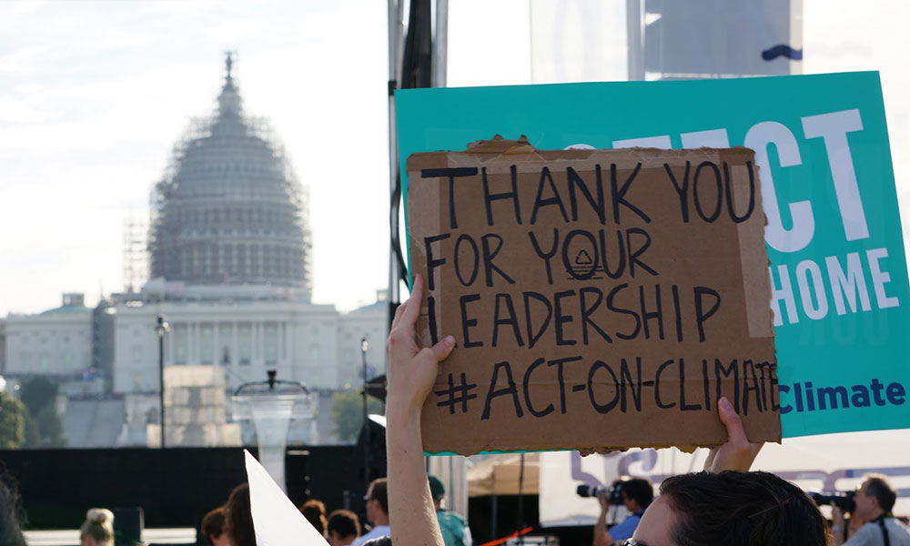 Act on Climate Rally