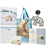 Polar Bear Adoption Kit and Exclusive Holiday Keepsake