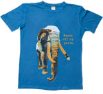 Elephant Unisex Large Hands Off My Parts T-Shirt