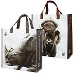 Rhino and Bison Tote Set