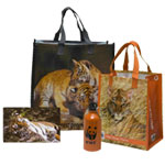 Tiger lunch tote, large tote and water bottle