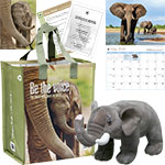 Elephant Adoption Kit and 2020 Calendar
