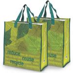 Two Reduce, Reuse, Recycle Bags